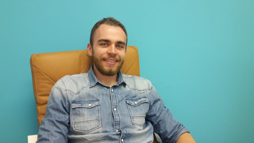 French translation intern Matthieu