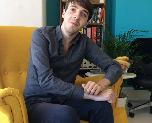 Our new French in-house translator Théophile Clouet