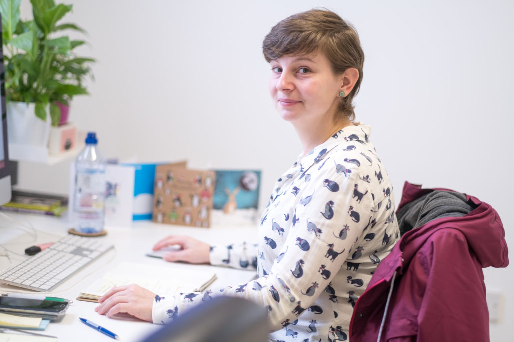 Ariane at work